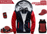 men casual hoodies harajuku the man's streetwear jackets 2019 casual fleece winter sweatshirts fitness tracksuits coat - one46.com.au