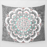 Home Furnishing Bohemian Mandala Tapestry Wall Hanging Sandy Beach Picnic Throw Rug Blanket Camping Tent Travel Sleeping Pad - one46.com.au