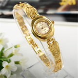 Women Bracelet Watch Mujer Golden Relojes Small Dial Quartz leisure Watch Popular Wristwatch Hour female ladies elegant watches - one46.com.au