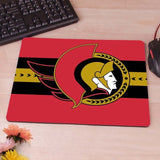 MaiYaCa Ottawa Senators wallpaper Computer Mouse Pad Mousepads Decorate Your Desk Non-Skid Rubber Pad - one46.com.au