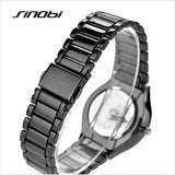 SINOBI Fashion Japan Quartz Watch Men Full Steel Watch Luxury Top Brand Male Clock Hour Business Wristwatches Relogio Masculino - one46.com.au