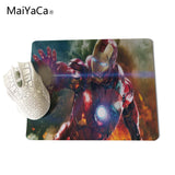 MaiYaCa Cool Man Iron Man  Computer Mouse Pad Mousepads Decorate Your Desk Non-Skid Rubber Pad - one46.com.au