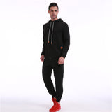 Hoodie Men Hoody Male Long Sleeve Solid Color Hooded Men's Sweatshirt Mens Hoodies Tracksuit Sweat Coat Casual moletom masculino - one46.com.au