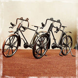 ZAKKA Style Bicycle Metal Figurines Household Decor Desktop DIY Bicycle CraftDecoration Figurines For Friend Birthday Best Gift - one46.com.au