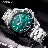SINOBI Wrist watches Luxury Stainless Steel Watch Men Watch Fashion Luminous Men's Watch saat relogio masculino erkek kol saati - one46.com.au