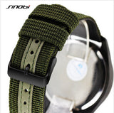 SINOBI Fashion Nylon Strap Sports Watch Men Watch Waterproof Military Watches Men's Watch saat relogio masculino reloj hombre - one46.com.au