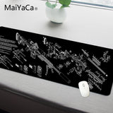 MaiYaCa Simple Design Speed Gun parts Game MousePads Computer Gaming Mouse Pad Gamer Play Mats Version Mousepad - one46.com.au