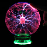 Novelty Glass Magic Plasma Ball Light 3 4 5 6 inch Table Lights Sphere Nightlight Kids Gift For New Year Magic Plasma Night Lamp - one46.com.au
