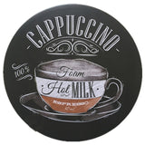 Round Retro Metal Plaques Vintage Metal Tin Signs Poster For Coffee Bar Decorative Iron Wall Art Merry Christmas Ornaments - one46.com.au