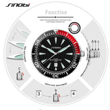 SINOBI Mens Watches Top Brand Luxury Watch Men Watch Fashion Luminous Wrist Watch Clock saat relogio masculino reloj hombre - one46.com.au