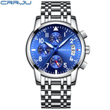 Rose gold Watches Brand Luxury Chronograph Fashion Quartz Watch Men Full Steel Waterproof Sport Watch Clock Relogio Masculino - one46.com.au