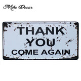 [ Mike86 ] Super Deal HOT License Plate Metal Tin Sign  Painting Antique Room Party Pub Home Bar Decor 30X15 CM FG-113 - one46.com.au