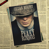 That man Store Peaky blinder Movie Kraft Paper Poster Bar Cafe Vintage High quality Printing Drawing core Decorative Painting - one46.com.au