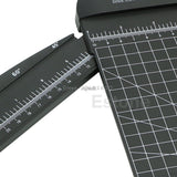 For Jielisi 909-5 A4 Guillotine Ruler Paper Cutter Trimmer Cutter Black-Orange Z09 Drop ship - one46.com.au