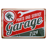 Retro Metal Decor Sign Vintage Tin Letter Plate Poster Iron Painting Vintage Wall Sticker Bar House Home Party Wall Painting - one46.com.au