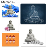 MaiYaCa Beautiful Anime Buddhism Lord Buddha DIY Design Pattern Game mousepad Size for 18x22cm 25x29cm Small Mousepad - one46.com.au