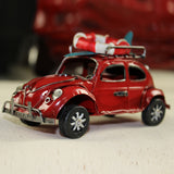 Retro Cassic Cars Figurine Metal Decoration Handmade Iron Classic Beetle Sailor Car Model Home Decoration Kid Toy Cars Crafts - one46.com.au