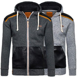 INCERUN Autumn Hoodies Men Hombre Zipper Jacket Hoodie Sweatshirt Slim Fit Hoody Coat Pullover Coat Men Winter Clothes - one46.com.au