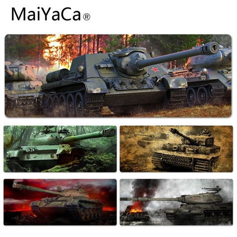 MaiYaCa  World of Tanks Tanks Keyboard Gaming MousePads Size for 30x90x0.2cm Gaming Mousepads
