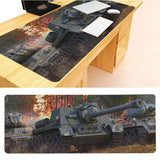 MaiYaCa  World of Tanks Tanks Keyboard Gaming MousePads Size for 30x90x0.2cm Gaming Mousepads - one46.com.au