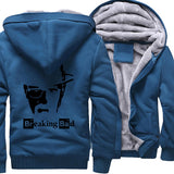 2019 Breaking Bad Men's jackets Hip Hop coats thick zip keep warm hoodies I Am The One Who Knocks Heisenberg sweatshirts Homme - one46.com.au