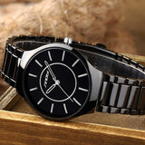 SINOBI Mens Watches Top Brand Luxury Full Steel Wrist Watch Men Watch Waterproof Fashion Men's Watch Clock relojes hombre 2017 - one46.com.au