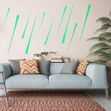 Meteor Shower Glow In The Dark Glow Stickers Luminous Fluorescent Wall Stickers For Kids Baby Room Bedroom Ceiling Home Decor - one46.com.au