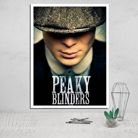 Peaky Blinders Canvas Poster Painting & Calligraphy Wall Painting Movie Poster Canvas Pictures for Living Room Art Print Giclee - one46.com.au