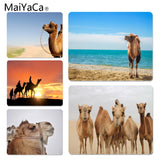 MaiYaCa Top Quality Camel by the lake Unique Desktop Pad Game Mousepad Size for 180x220x2mm and 250x290x2mm Rubber Mousemats - one46.com.au