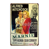 [ Mike86 ] Alfred Hitchcock Bird Metal Poster Retro art Wall home Vintage Tin Sign Decoration   FG-222 - one46.com.au