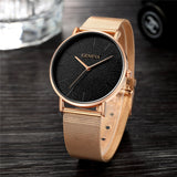 GENEVA Women's Watch 2019 Fashion Ladies Watches For Women Rose Gold Watch Women Simple Bracelet Montre Femme 2018 Reloj Mujer - one46.com.au