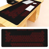 MaiYaCa New Designs Periodic Table of Elements Keyboard Gaming MousePads Size for 300x700x2mm and 300x900x2mm Mousepad - one46.com.au