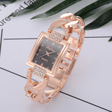 lvpai Women's Watches Top Brand Luxury Gold Bracelet Watch Women Watches Rhinestone Ladies Watch Clock reloj mujer montre femme - one46.com.au