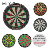 MaiYaCa New Design Darts target Printing Silicone Pad to Mouse Game Anti-Slip Laptop PC Round Mice Pad Mat Mousepad - one46.com.au