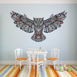 Removable Colorful Owl Kids Nursery Rooms Decorations Wall Decals Birds Flying Animals Vinyl Wall Stickers Self Adhesive Decor - one46.com.au