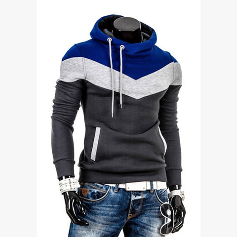 TANGNEST Men's Hooded 2019 Autumn Top Selling Sweatshirts Hooded Stichting Casual Fashion Homme Hoodie Asian Size MWW1468 - one46.com.au