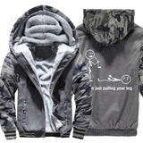 Brand clothing 2019 casual sweatshirts homme winter Fashion hip hop jackets coats I Was Just Pulling Your Leg Funny hoodies men - one46.com.au