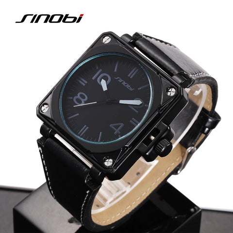 SINOBI Watch Men Watch Fashion Military Sports Watches Waterproof Men's Watch Clock relogio masculino reloj hombre - one46.com.au