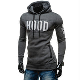 TANGNEST Hot Sale Men Hoodies 2019 New Print Men Sweatshirts Letter Print Velvet Hooded Long Style Streetwear Hoodie Men MWW1562 - one46.com.au