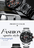 NIBOSI Men Watch Reloj Hombre 2018 Mens Watches Top Brand Luxury Quartz Watch Big Dial Sport Waterproof Relogio Masculino Saat - one46.com.au