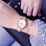2019 Luxury Brand Women's Watch Simple Style Leather Band Quartz Watch Fashion Wristwatch Ladies Watches Clock For Women - one46.com.au