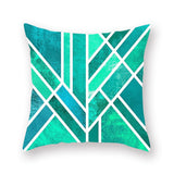 Home Decorative Pillow Covers Nordic Style Geometric Cushion Covers Mountain Arrows Pillow Cases Bedroom Sofa Decoration - one46.com.au