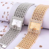 2019  Watches  Brand Luxury Casual Women Round Full Diamond Bracelet Watch Analog Quartz Movement Wrist Watch dropshipping - one46.com.au