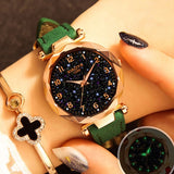Fashion Women Watches 2019 Best Sell Star Sky Dial Clock Luxury Rose Gold Women's Bracelet Quartz Wrist Watches New Dropshipping - one46.com.au