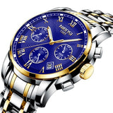 NIBOSI Montre Homme Top Luxury Brand Famous Men Watch Business Watches Gold Clock Quartz Watch Military Relogio Masculino Saat - one46.com.au