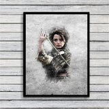 Game Of thrones Art Canvas Painting Wall Art Pictures prints home decor Wall poster decoration for living room - one46.com.au