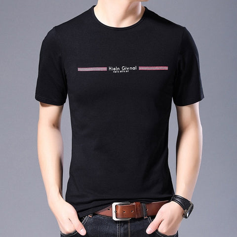 2019 New Fashion Brand T Shirts For Men O Neck Solid Color Streetwear Tops Trends Summer Top Grade Short Sleeve Tee Men Clothing - one46.com.au