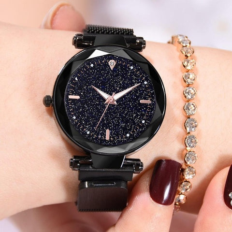 Luxury Women Watches 2019 Ladies Watch Starry Sky Magnetic Waterproof Female Wristwatch Luminous relogio feminino reloj mujer - one46.com.au