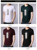 2019 New Fashion Brand T Shirt For Men O Neck Print Street Wear Tops Trending Summer Top Grade Short Sleeve Tee Men Clothing - one46.com.au