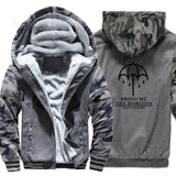 sportswear thicken coats bring me high quality brand sweatshirts 2019 winter wool liner jackets men Camouflage sleeve tracksuits - one46.com.au